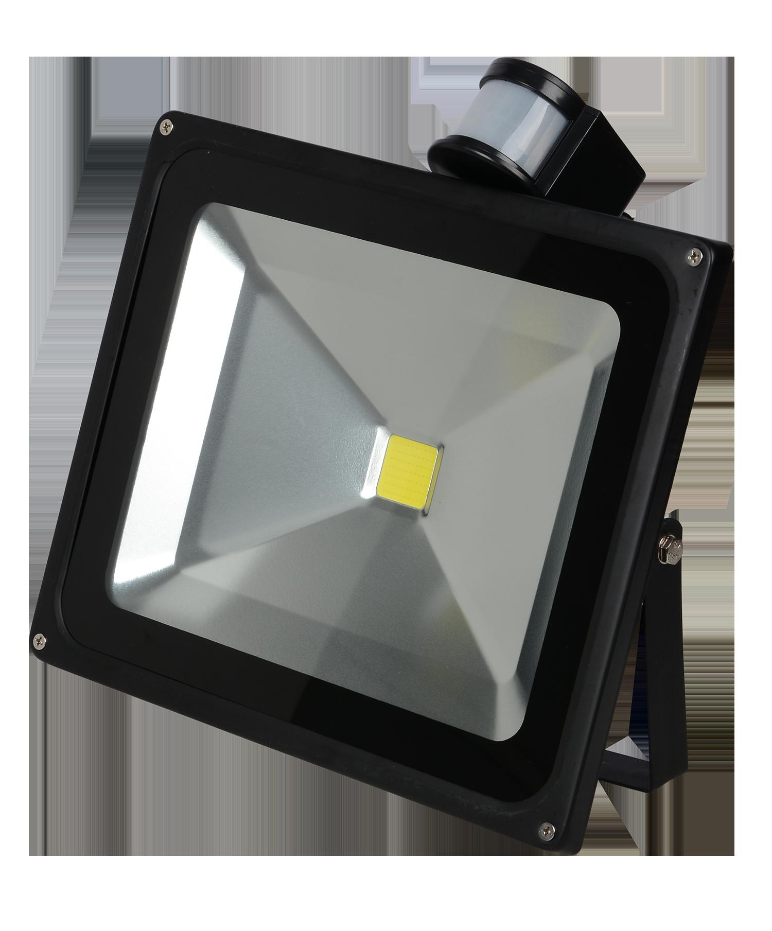20w led fluter strahler scheinwerfer schwarz flutlicht bewegungsmelder kaltweiss ebay. Black Bedroom Furniture Sets. Home Design Ideas