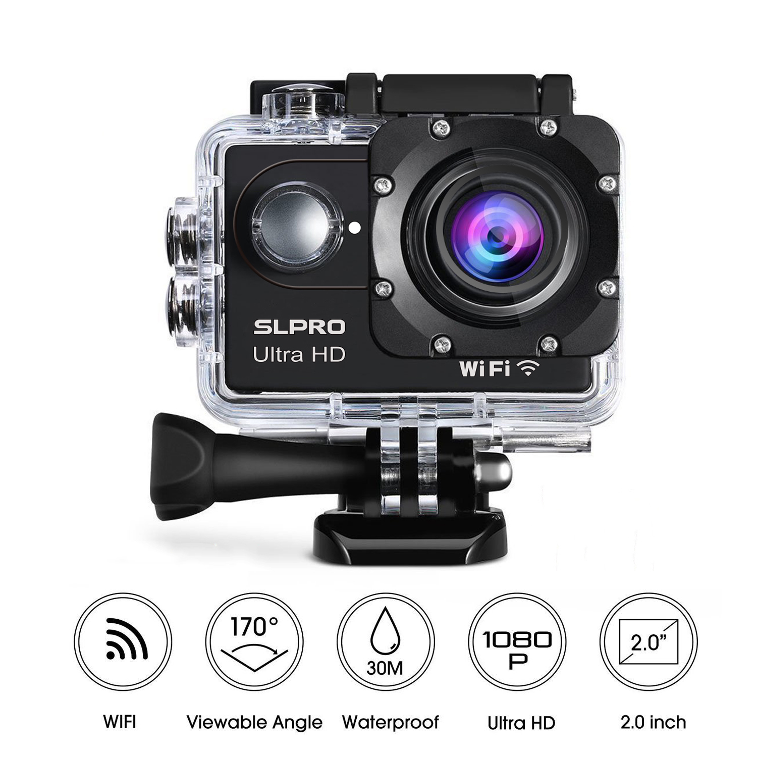 action cam full hd 1080p wifi mini digital kamera sport dv. Black Bedroom Furniture Sets. Home Design Ideas